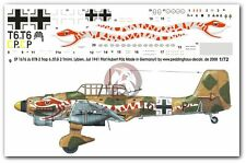 Peddinghaus 1/72 Ju 87 B-2 Trop Markings Hubert Pölz 6./StG 2 Libya 1941 1676