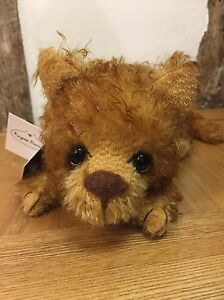 Kaycee Bears 'tommy' Collectable Mohair Cat Led No.20 Of 35 Bnwt Artist Bag Save 50-70%