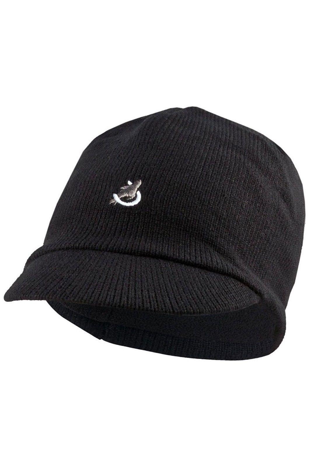 SealSkinz Peaked Waterproof Beanie Hat Black XXL 131140700150 for ... c1a4fb2dfbfa