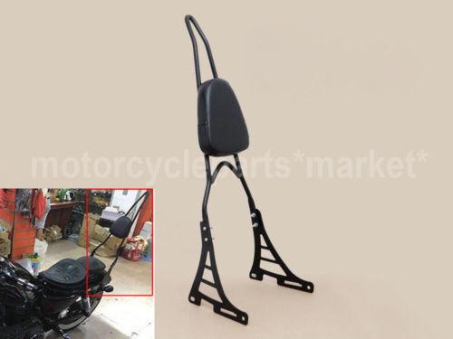 Detachable Passenger Sissy Bar Backrest For Harley Sportster 883 1200 2004 48 UP