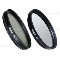 Vivitar 86mm CPL Circular Polarizing Filter + UV Filter