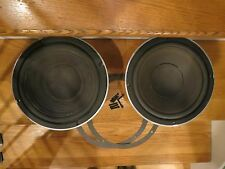 "RARE PAIR JBL 125A 10"" WOOFERS SPEAKER XCLNT L26 L36 DECADE CAST DRIVER NEW FOAM"