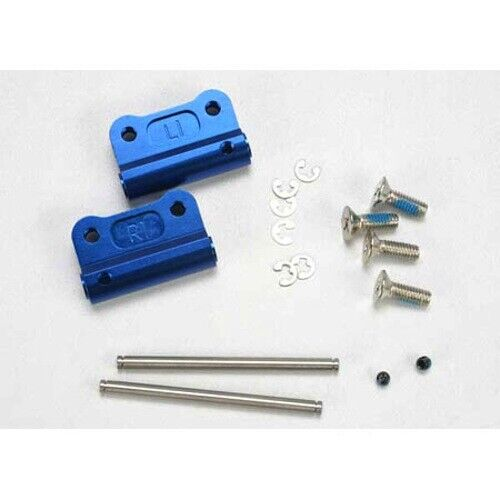 Nitro Slash 2wd//Stampede Traxxas TRA2798X Blue Aluminum Rear Suspension Mount