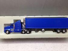 HO 1/87 Model Power # 23004 KW T-660 Sleeper Cab w/Reefer Van Metallic Blue