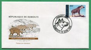 Djibouti 1995 Mi. 614 Hyène FDC