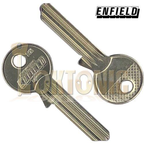 ENFIELD HXKB6 véritable Clé blanks pour s/'adapter à toute PIN 6 ENFIELD Cylindre