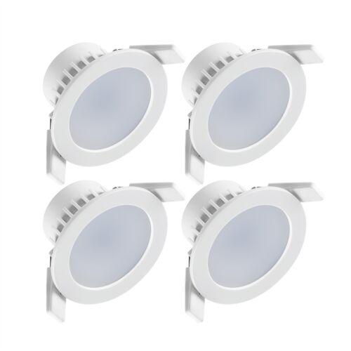 UK Brand 4 Pack Deta Warm White Dimmable LED Downlight