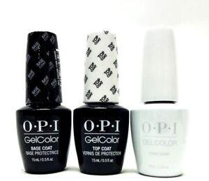 Image Is Loading Opi Nail Gelcolor Gel Polish Base Coat Top