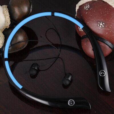 New For Samsung iPhone LG Wireless Bluetooth Stereo Headset Headphone Earphone