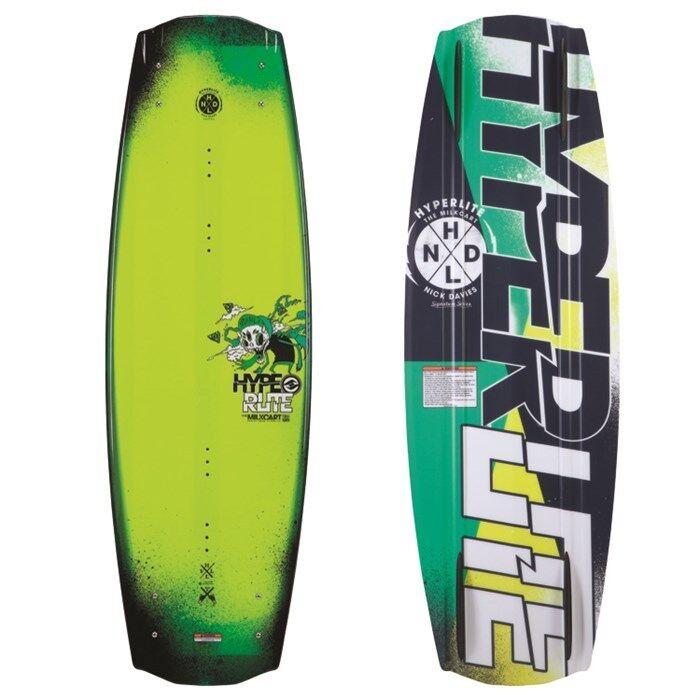 HYPERLITE MILKCART WAKEBOARD – COLOR  GREEN – SIZE  136 CM – NEW