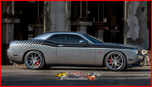 2011 TO 2014 DODGE CHALLENGER DUEL FULL FS GRAPHIC DECAL FACTORY STRIPE