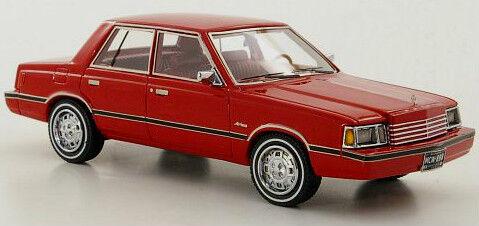 Merveilleux Dodge Aries (K-Car) 1983-R E D - 1 43 - Ltd. Ed. 500