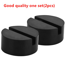 Slotted Frame Rail Floor Jack Lift Rubber Pad Adapter For Pinch Weldside JACKPAD