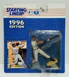 ALBERT BELLE Cleveland Indians Kenner Starting Lineup SLU MLB 1996 Figure & Card