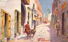C5039) LIBIA TRIPOLI VIA ERBAA-ARSAT, ILL. CODOGNATO. LA FIDUCIARIA MOBILI.