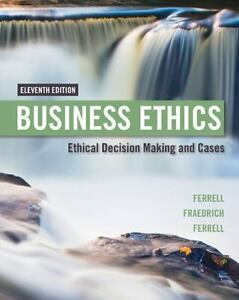 Business ethics ethical decision making and cases by ferrell stock photo fandeluxe Images