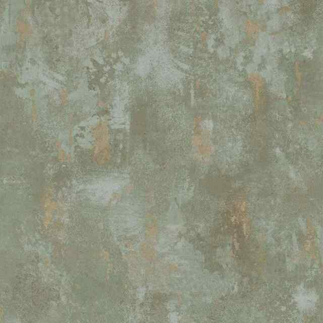 Dutch Wallcoverings Wallpaper Concrete Green Home Wall Covering Sheet Tp1010