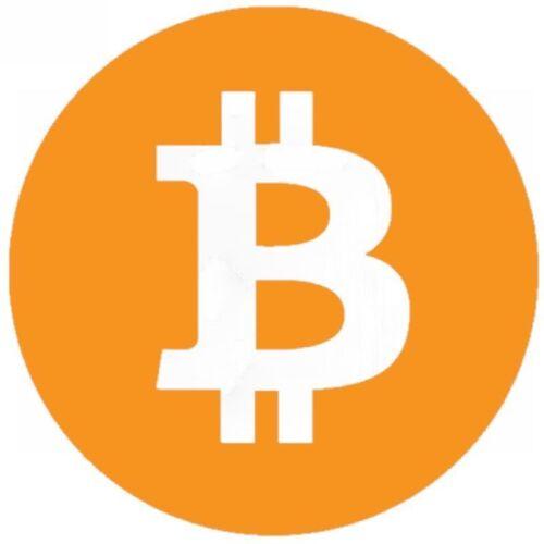 Bitcoin Logo BUMPER STICKER CAR WINDOW PAINTWORK STICKER VINYL DECAL