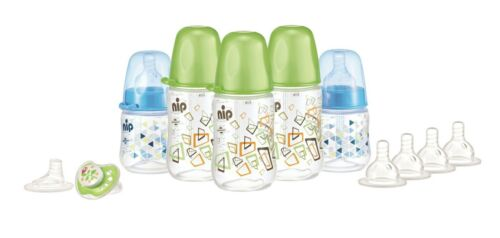 NOUVEAU * Neuf sous emballage Baby Starterset babyflaschenset flaschenset pour la naissance 11 pièces