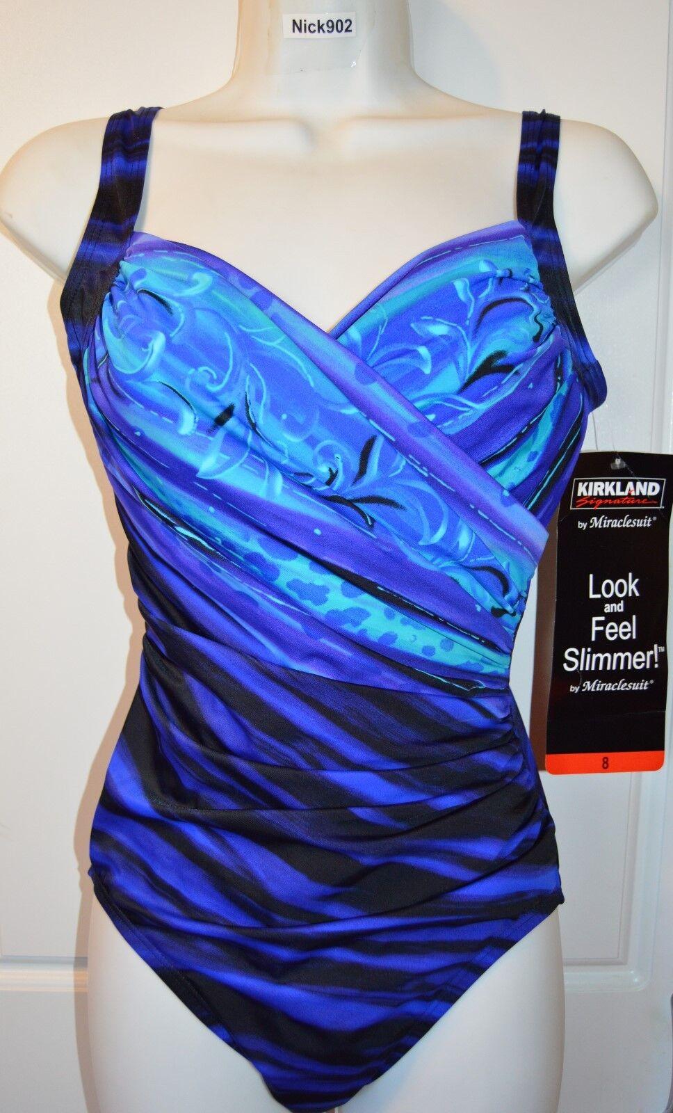 NWT Women's  MIRACLESUIT Sanibel  SWIMSUIT by Kirkland Bathing Suit Size 12