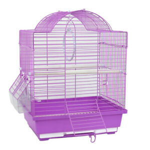 New-Small-Bird-Cage-Canary-Parakeet-Cockatiel-Finch-Travel-Carry-Cage-30x23x39cm