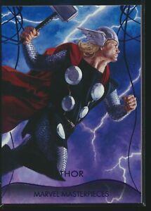 2020 Upper Deck Marvel Masterpieces Epic Purple Parallel #26 Thor 185/199