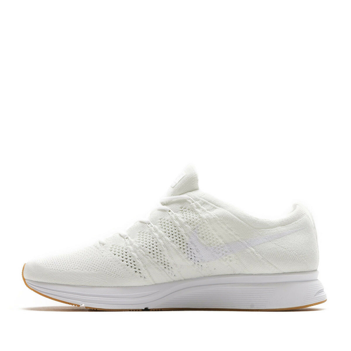 Nike Men Flyknit Trainer Reflective Running shoes White Gum AH8396-102 US7-11 04'