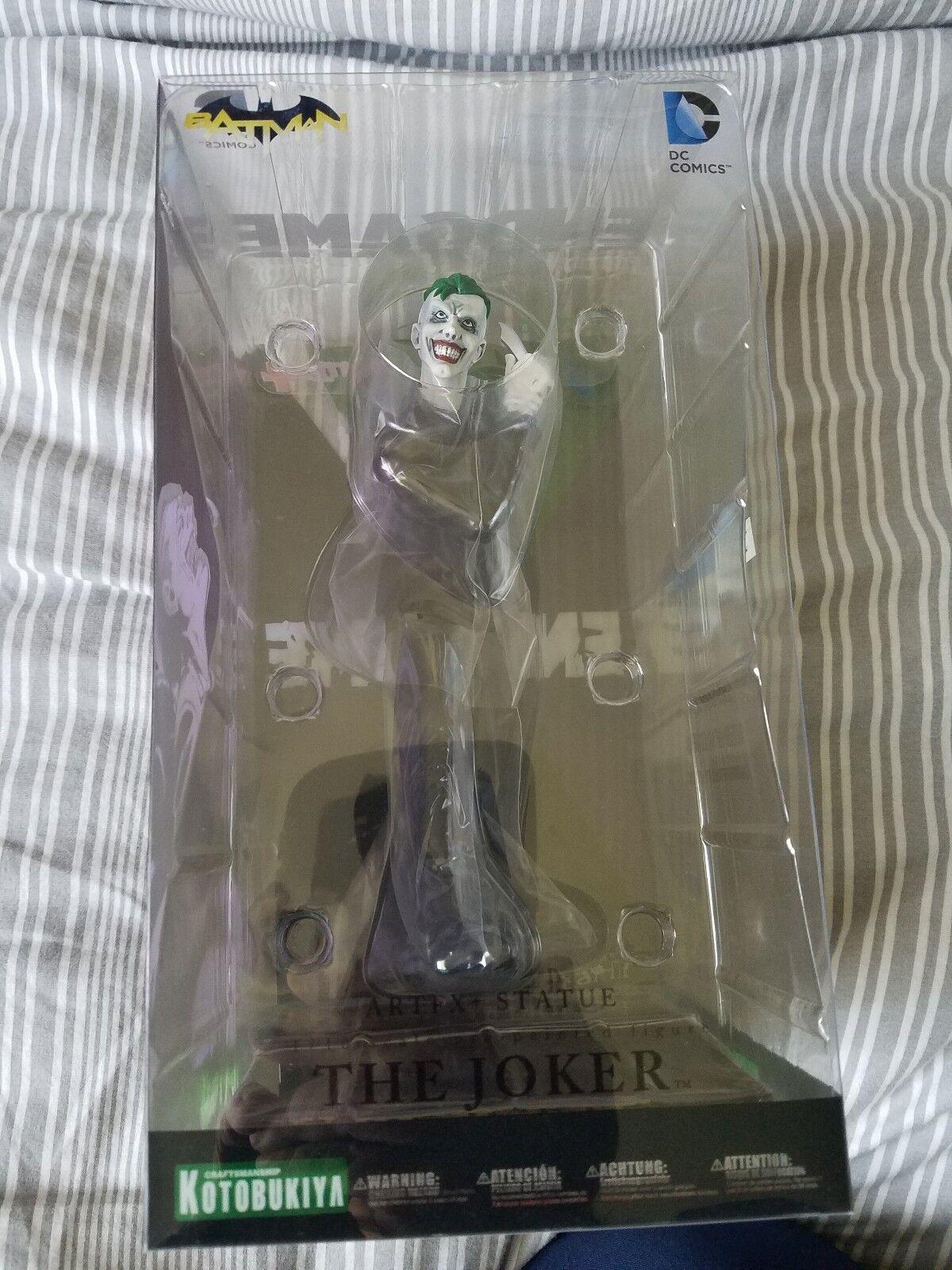 Kotobukiya dc comics greg capullo ist joker endspiel neuen 52 7.artfx + statue