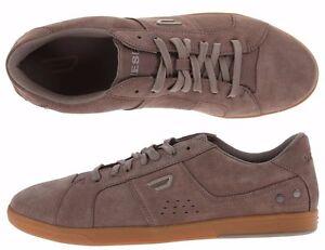 Mens Diesel Shoes Eastcop Gotcha Brindle Brown Suede Gum Sole Trainers NEW