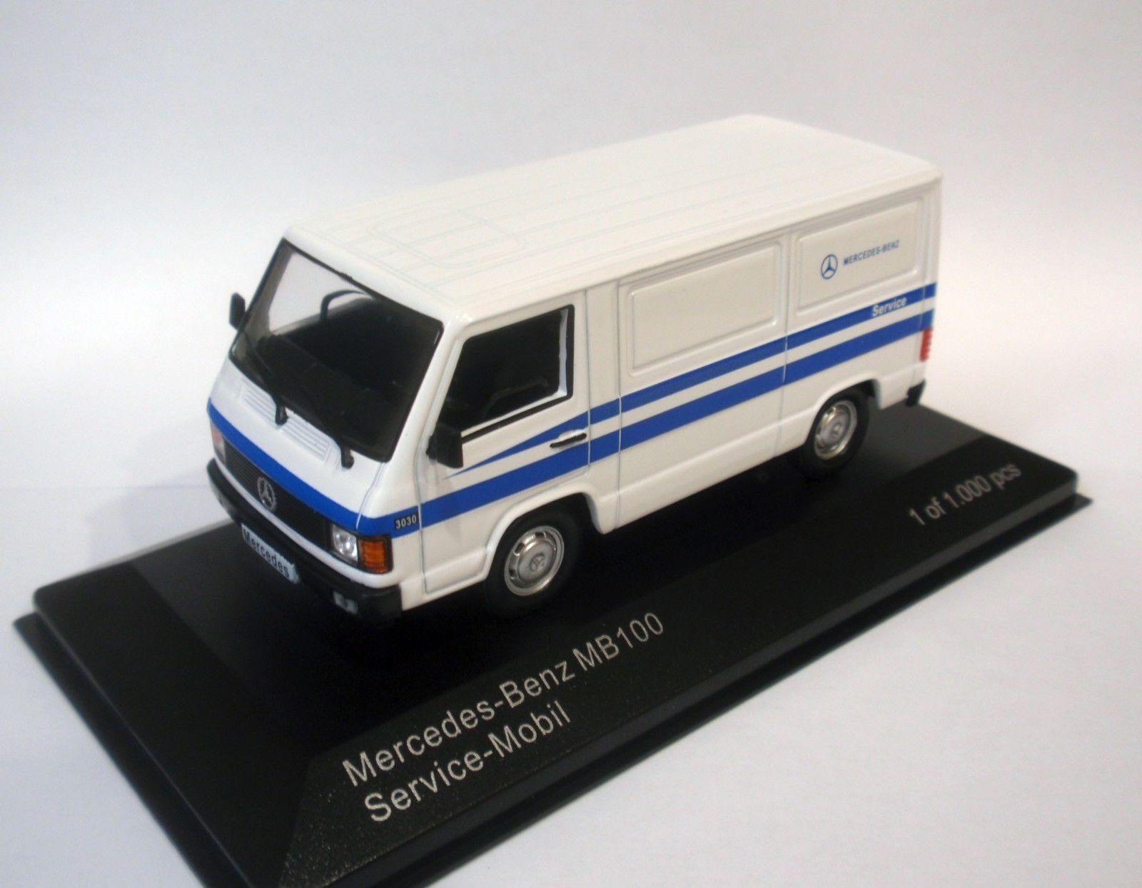 WHITEBOX WB266 - 1 43 MERCEDES MB 100 MERCEDES-BENZ SERVICE VAN 1988