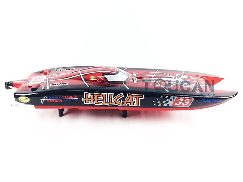 DT RC Electric Boat E51 Catamaran PNP W KEVLAR  Dual-motors Driving Cooling ESC  per poco costoso