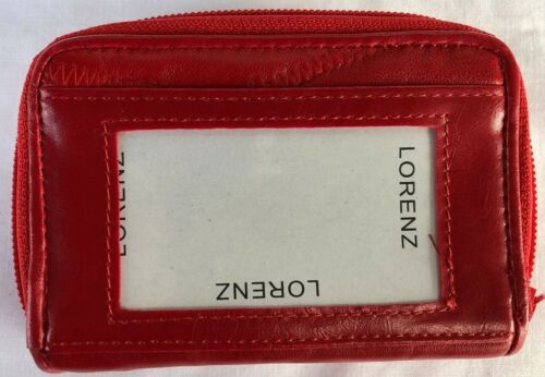 New Lorenz Genuine  Soft Real  Leather Ladies  Purse Coin Pouch  4620