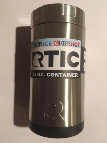 25oz Cold//Hot RTIC Double Wall Vacuum Insulated Food Container Stainless Steel