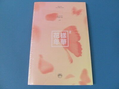 BTS - IN THE MOOD FOR LOVE PART.2 [PEACH VER.] CD +BOOKLET+ CARD + UNFOLD POSTER