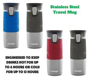 4108e1901c8 Image is loading Contigo-PINNACLE-Thermos-Coffee-Water-Travel-Mug-Flask-