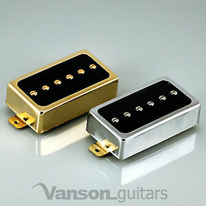 new vanson alnico v p90 humbucker size single coil pickup hb90 neck or bridge ebay. Black Bedroom Furniture Sets. Home Design Ideas