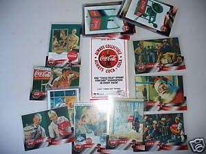 COCA-COLA-COKE-96-sprint-cel-cards-set-of-50-mint-RARE