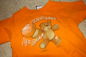 TENNESSEE VOLUNTEERS #8 REPLICA JERSEY TODDLER 2T 3T 4T NWT ORANGE POLYESTER