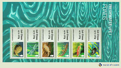 2013 Freshwater Life I - Ponds Post and Go Stamp Presentation Pack PPP11