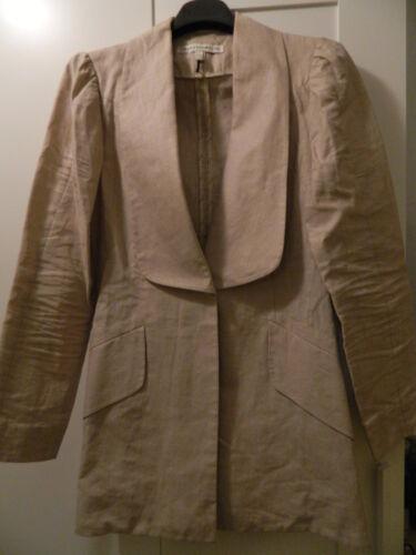 Eu38 Uk10 Twenty8twelve Giacca Blazer It42 Linen Jacket Beige Lino 6xBw0qZ