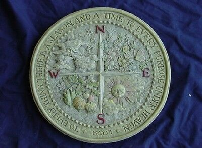 Four Seasons Concrete Plaster Cement Stepping Stone Mold 1063 Moldcreations