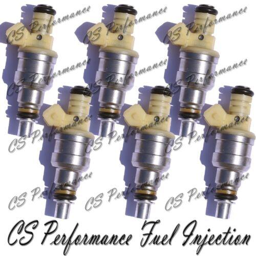 OEM Nikki Fuel Injectors Set INP-012 Rebuilt by Master ASE Mechanic USA 6