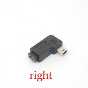 Mini-USB-Type-A-Female-to-Micro-USB-B-Male-90-Degree-right-Angle-adaptor-Charger