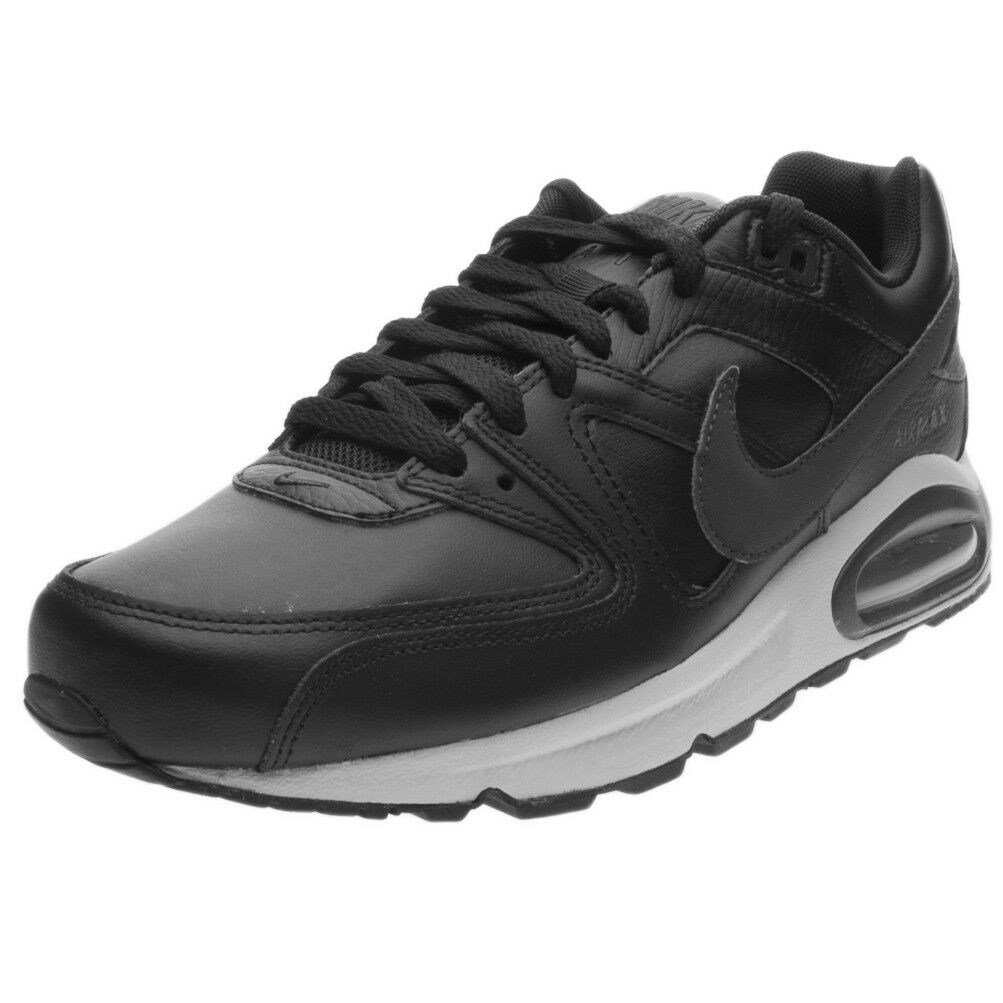 schuhe Nike Nike Air Max Command Leather 749760-001 schwarz