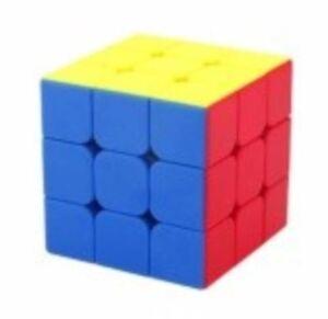 MoFang-Rubik-039-s-Cube-3x3x3-Jiaoshi-Red-MF3S-Stickerless