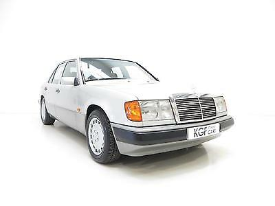 A Graceful Mercedes-Benz W124 230E with Just 74,107 Miles and Full History.