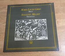LP Marie-Louise Girod Orgue Sylvette Milliot violoncelle musique religieuse 1984