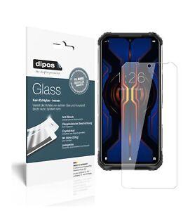 2x Pantalla para Doogee S95 Pro Protector de Vidrio Flexible Cristal 9H