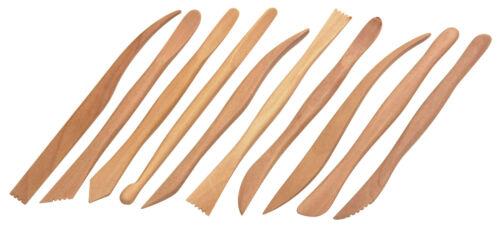 Jakar Wooden Pottery Tool Kit Set Modelling Needle Tool Wire Cutter Sponge Rib