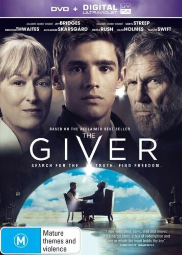 1 of 1 - The Giver DVD & Ultraviolet Katie Holmes Taylor Swift Jeff Bridges Meryl Streep
